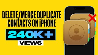 How to Delete Multiple Contacts in iPhone.