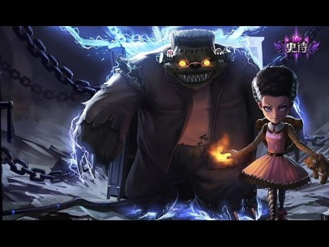 League of legends : unlocking FrankenTibbers Annie
