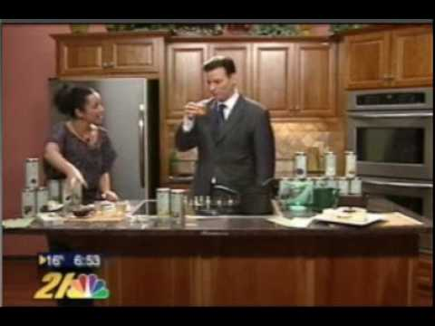 LeafSpa Organic Tea Segment on EcoMom (NBC Morning News)