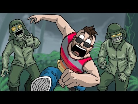Zetsubou No Shima Funny Moments! (Call of Duty Zombies)