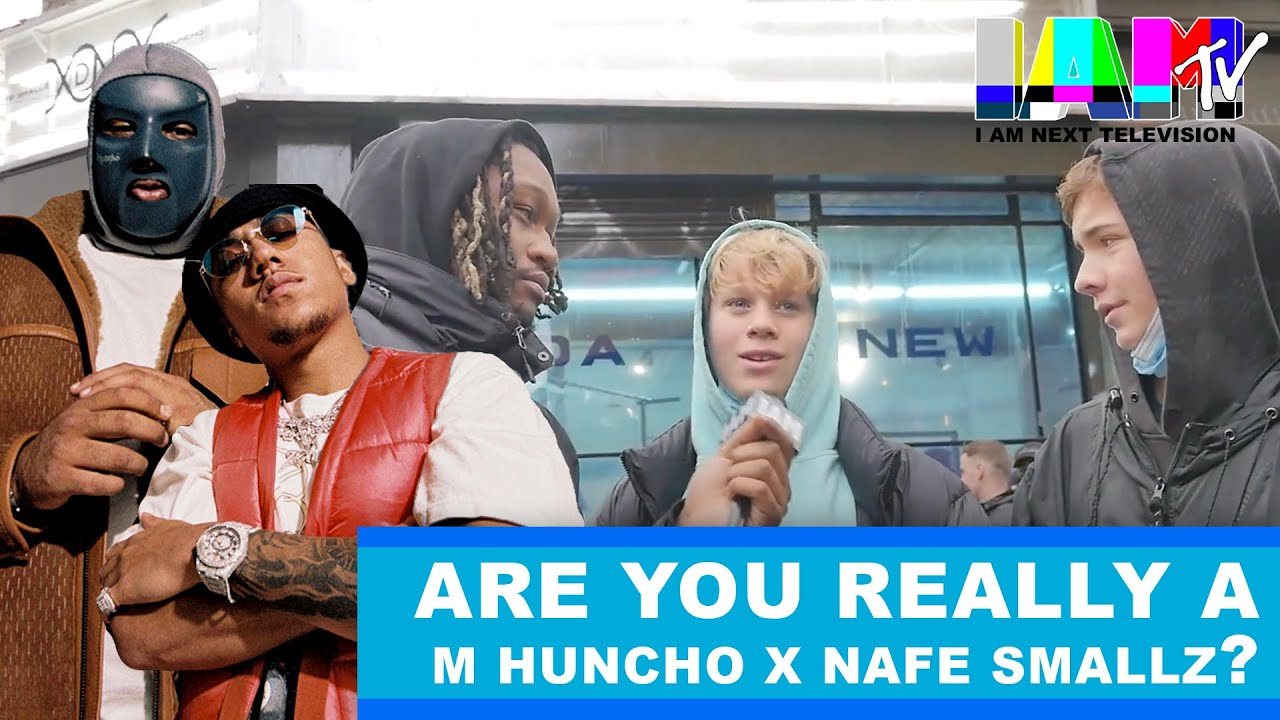 Are You Really a Fan ? with M Huncho & Nafe Smallz at the DNA London Pop Up - I AM TV