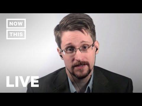 Edward Snowden Speaks Ahead of Memoir Release   NowThis
