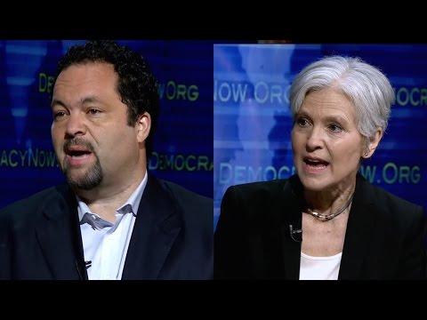 Part 1: Jill Stein vs. Ben Jealous: Should Progressives Reject Hillary Clinton & Vote Green?