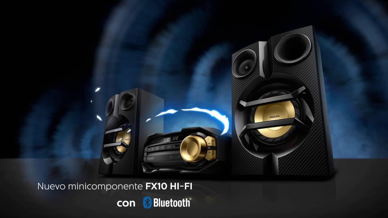 Mini Sistema Hi-fi Philips 230w Fx10x  77