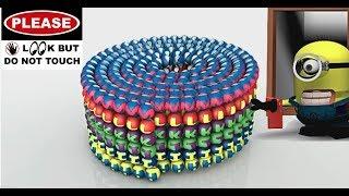 APPRENDRE les COULEURS Alphabet A-Z de l'Alphabet, les Minions LOL Surprise Poupées Animation 3D