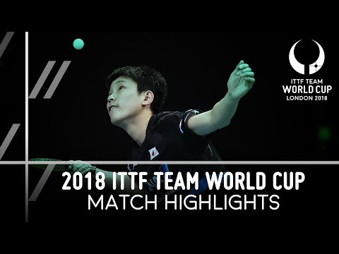 2018 Team World Cup Highlights I  Liam Pitchford vs Tomokazu Harimoto Group