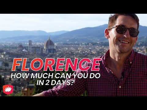 2 DAYS in FLORENCE with FULL ITINERARY!!
