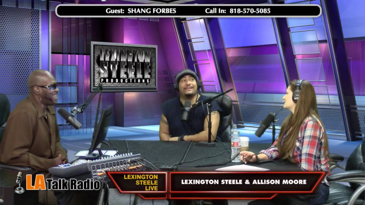La Talk Radio Lexington Steele Live