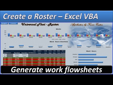 roster create a roster roster template hours and overtime work