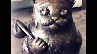 Кот Семен герой города Мурманск