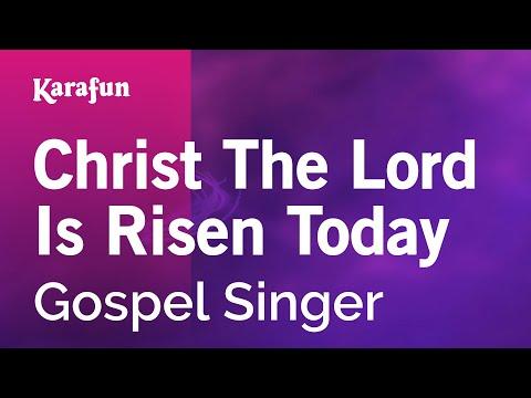 Karaoke Christ The Lord Is Risen Today - Gospel Singer *