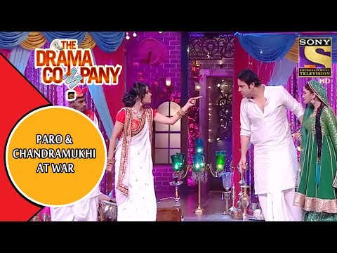 Paro And Chandramukhi Fight For Devdas | The Drama Company