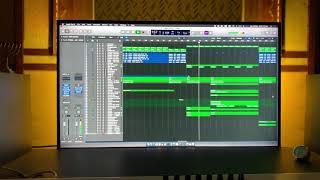 Triyeka Dheva    working clips    Sandy Strings    Pas Augustin    Almighty studios