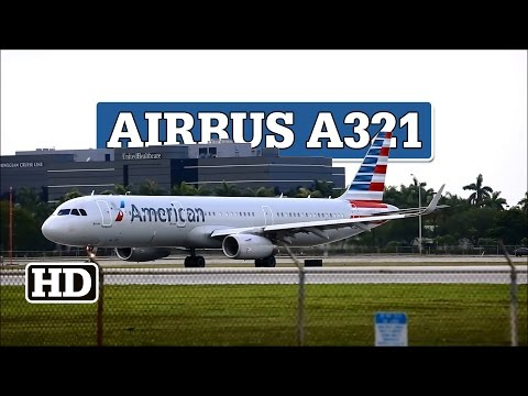Airbus A321-231 N125AA   American Airlines Takeoff At MIA