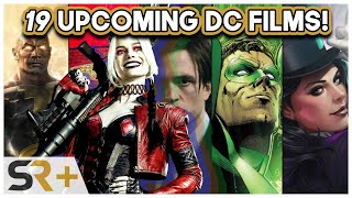 All 19(!) DC Movies Releasing After The Suicide Squad (& When)