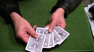 余分に多くのカードを見せるカウントの仕方(カードマジック技法) thumbnail