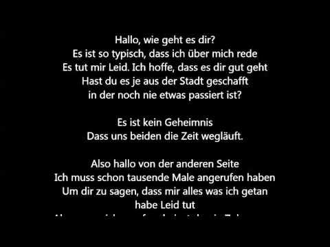 Adele - Hello [Deutsche Übersetzung / German Lyrics]