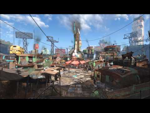 Fallout 4 - 4 Hours of Diamond City Radio with Travis (Potential Spoilers)