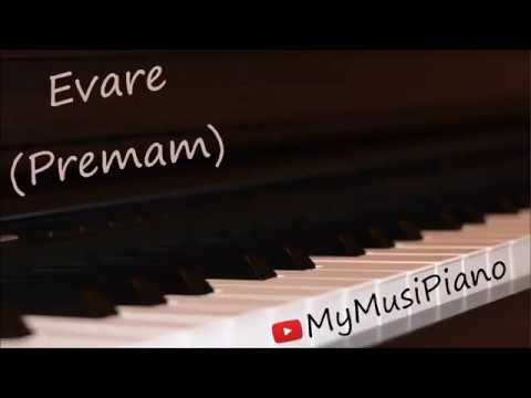 Evare | Malare | Premam on piano