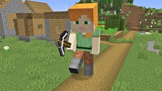 Giant Alex but it's little in Minecraft By Scooby Craft