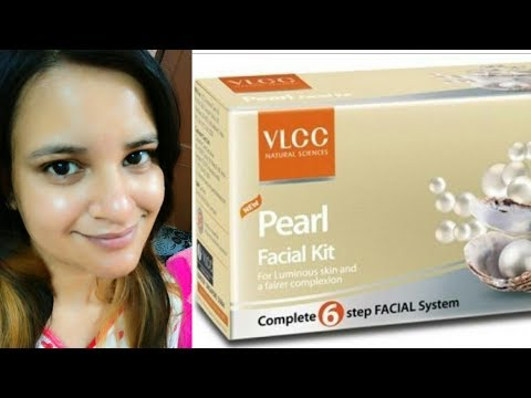 VLCC PEARL FACIAL Step By Step For Fairer Glowy & Shiny Skin||GET PARLOR LIKE FACIAL AT HOME