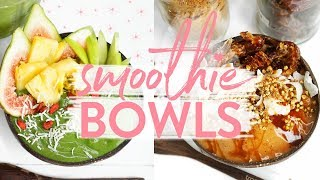 HEALTHY FRESH SMOOTHIE BOWLS | Tropeaka Vegan Protein, Paleo + Easy!!