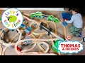 Thomas and Friends | Thomas Train MASSIVE TRACK with Brio and Trackmaster! Toy Trains for Kids