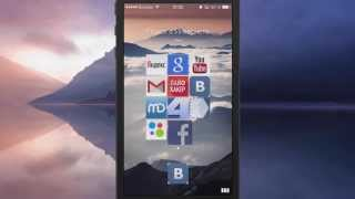 Очень крутой браузер для iphone 6 Opera Coast