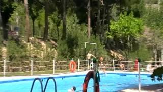 Piscina Lago Resort, junto al Monasterio de Piedra