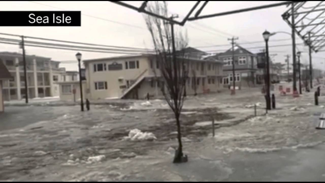 Severe Flooding In Sea Isle City