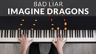 Download lagu Imagine Dragons - Bad Liar | Tutorial of my Piano Cover + Sheet Music