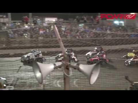 8/8/18 POWRi Midgets at Macon Speedway Highlights