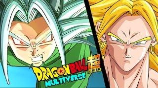 zaiko il discepolo del dio della distruzione sayan contro broly dragon ball super multiverse 4