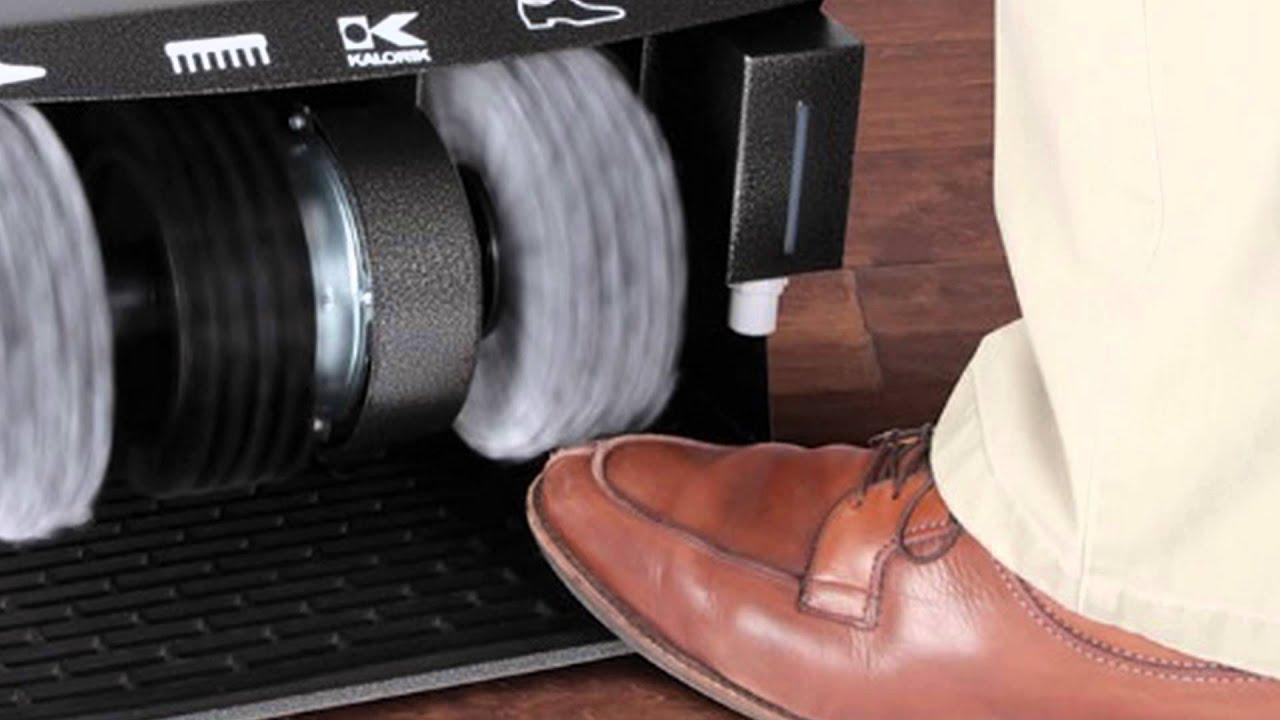 Electric Shoe Polisher Machine  YouTube