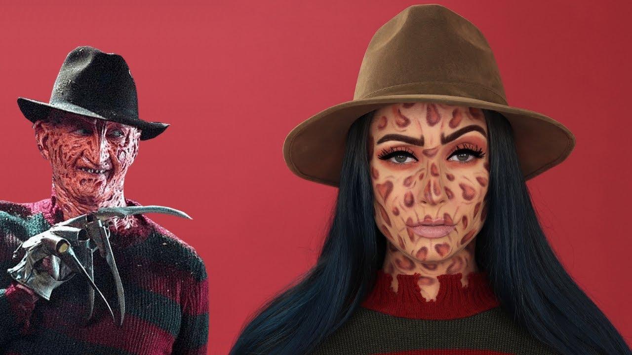 Glam Freddy Krueger Makeup Tutorial