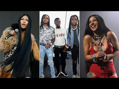 Nicki Minaj says Cardi B had Atlantic Records and Quavo Force Her to Change her Verse on Motorsport.