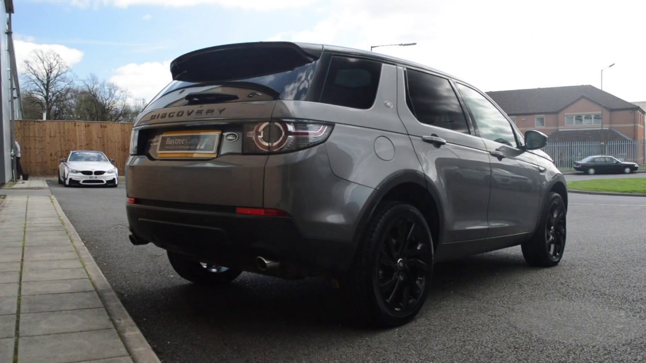 Land Rover Discovery Sport 2 0 Td4 Hse Black At Baytree