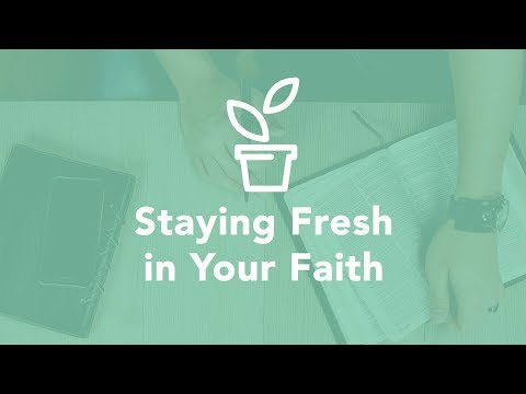 Staying Fresh in Your Faith - Bruce Downes The Catholic Guy