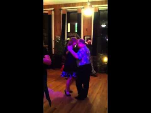 Ann Stewart of APT dances tango