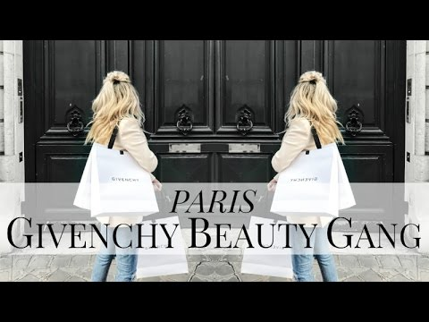 PARIS VLOG | GIVENCHY BEAUTY GANG | IAM CHOUQUETTE