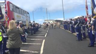Saltcoats Protestant Boys - 10th Anniversary Parade 2015