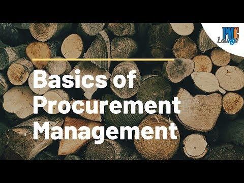 The Basics of Procurement Management
