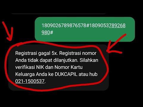 Inilah Cara Registrasi Kartu Telkomsel Yang Benar Terbaru 2020 - Sanjaya.com.
