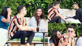 Priyanka Chopra And Nick Jonas Chills With Sonam Kapoor And Anand Ahuja At Isha Ambani Engagement