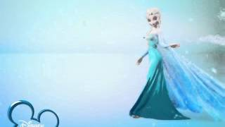 Disney Channel Russia ident - Frozen #5