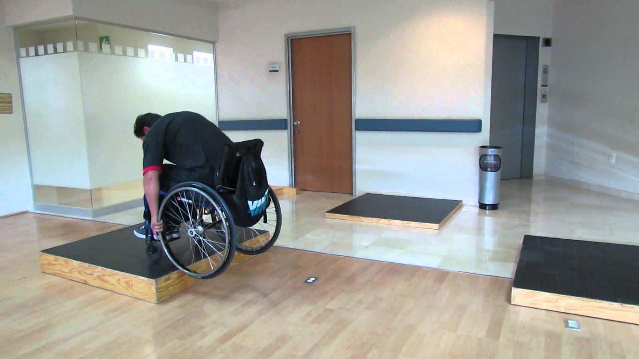 Silla de ruedas aktiva plataformas youtube for Plataforma para silla de ruedas