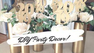 Diy Party Decor   2019 Graduation Party Diy Ideas   Affordable And Elegant