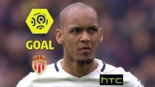 Goal FABINHO (49' pen) / SM Caen - AS Monaco (0-3)/ 2016-17