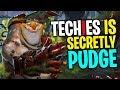 Techies is Secretly Pudge - DotA 2 Funny Moments