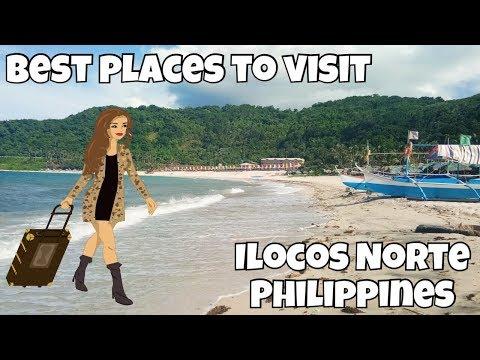 The Best Places & Destinations to visit In Ilocos Norte (Philippines) Vlog 1